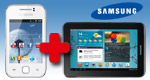 Handy + Tablet-PC = 1 EUR