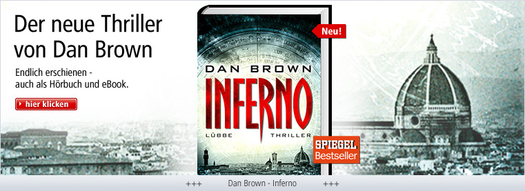 Endlich erschienen: Dan Brown - Inferno